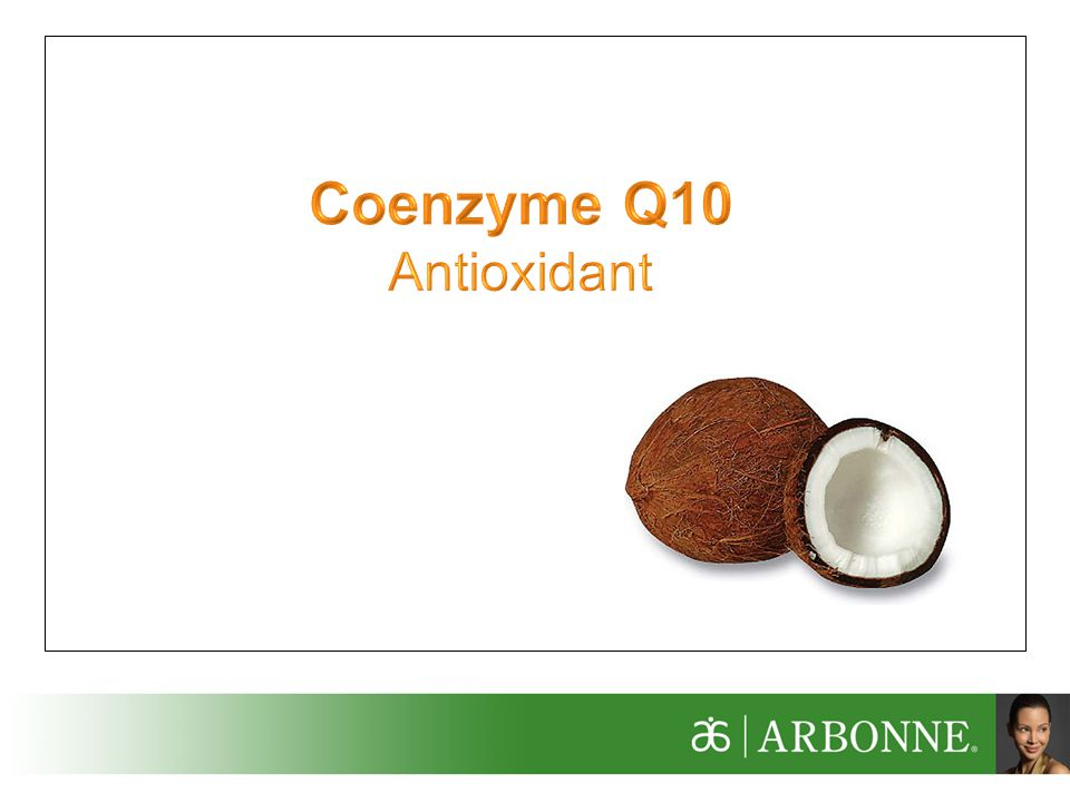 Coenzyme Q10 Antioxidant