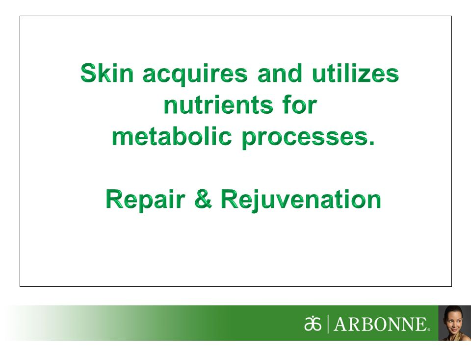 Skin acquires and utilizes