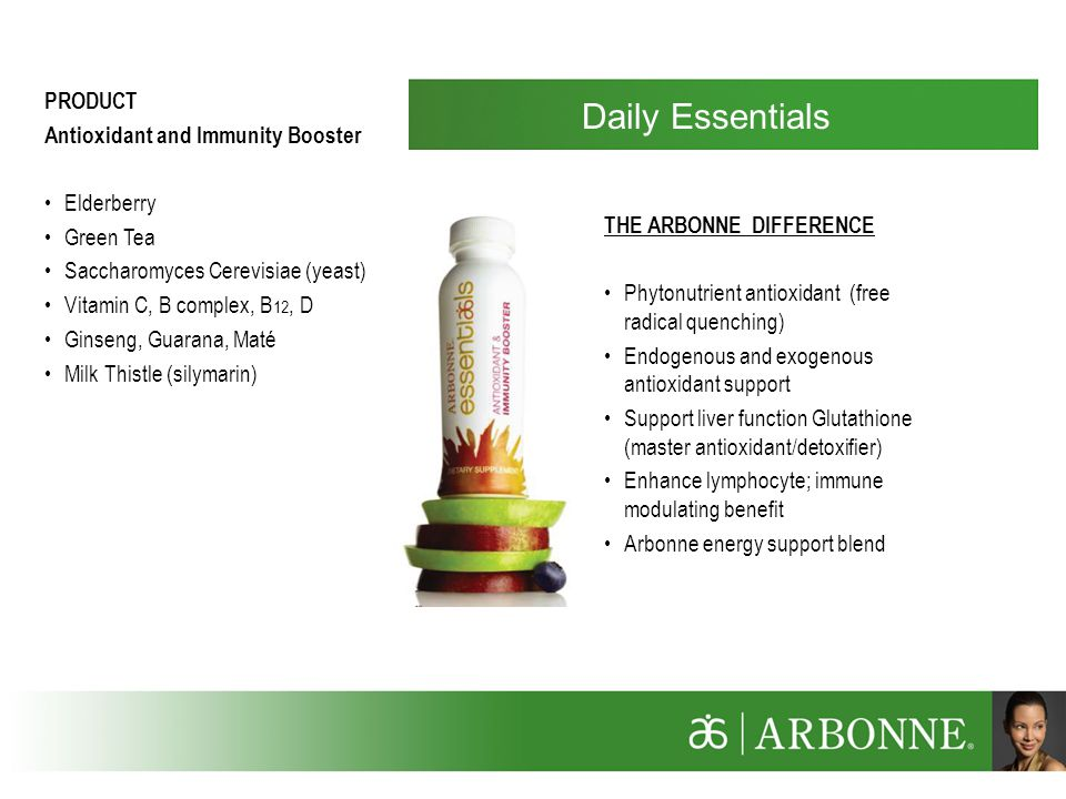 Daily Essentials PRODUCT Antioxidant and Immunity Booster Elderberry