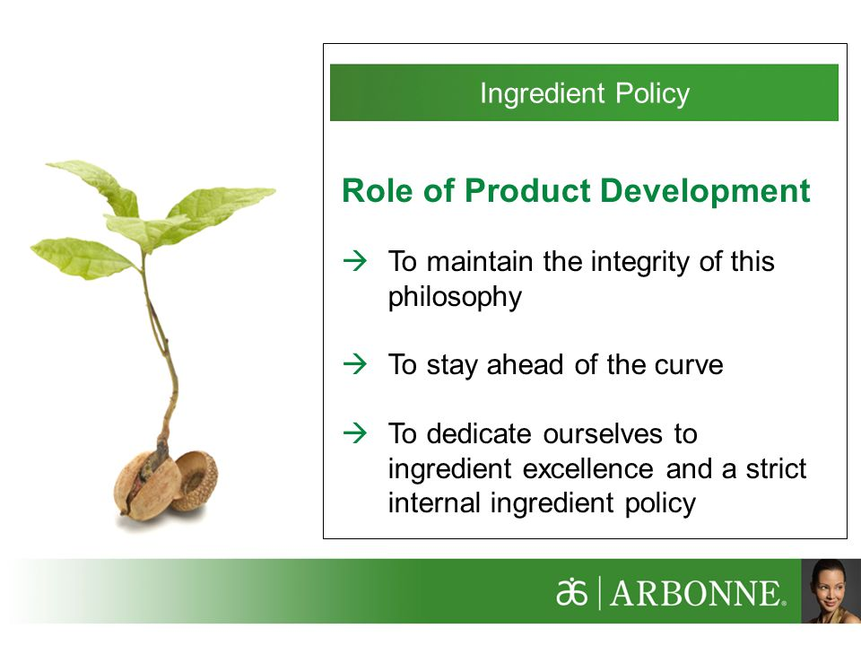 Role of Product Development