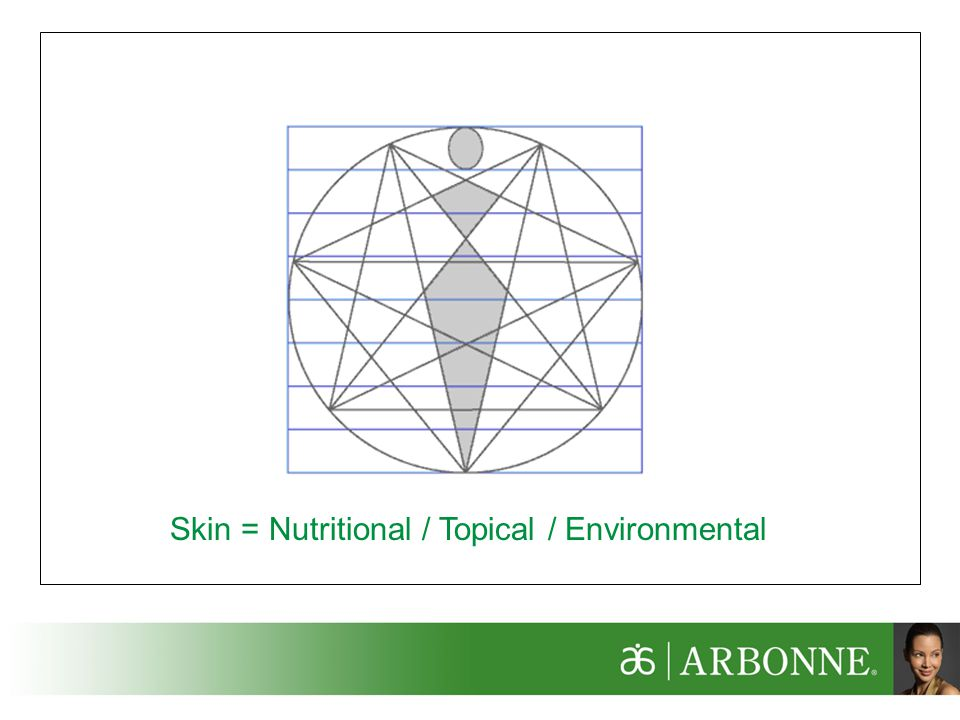 Skin = Nutritional / Topical / Environmental