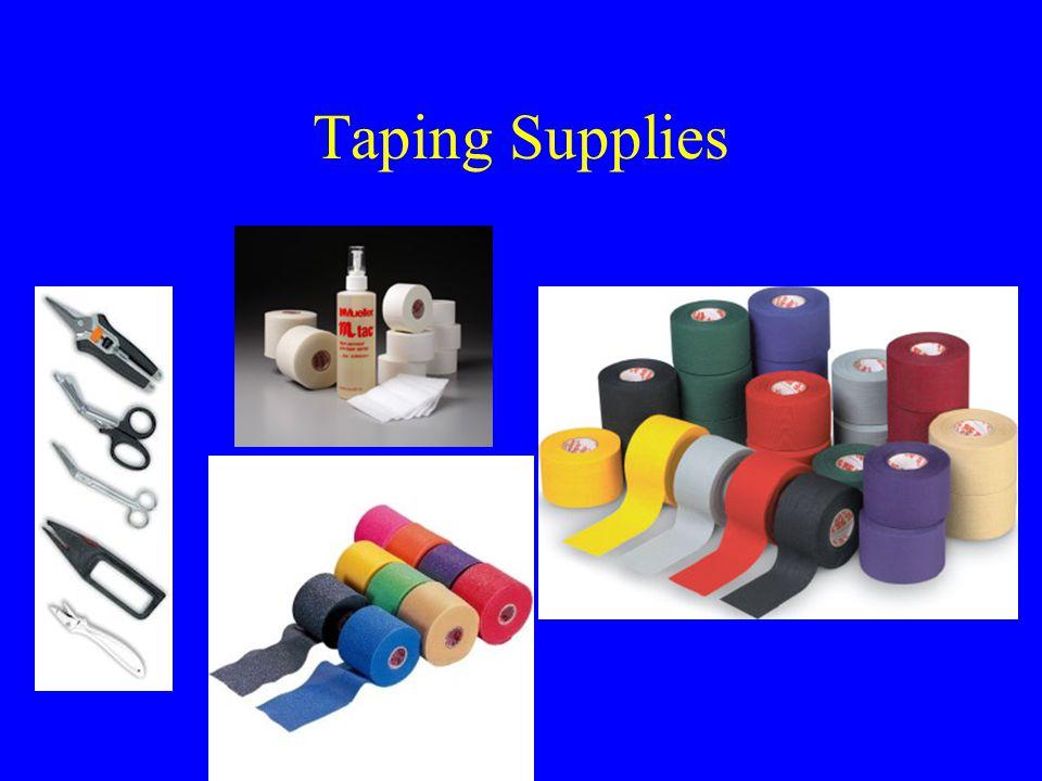 Taping Supplies