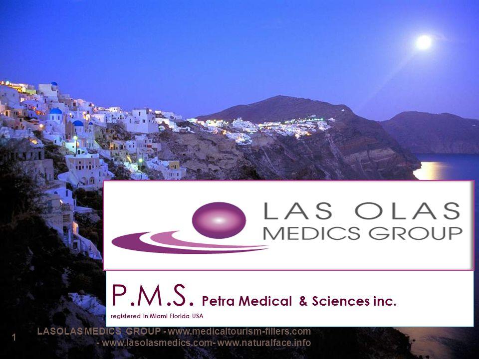 P.M.S. Petra Medical & Sciences inc. registered in Miami Florida USA