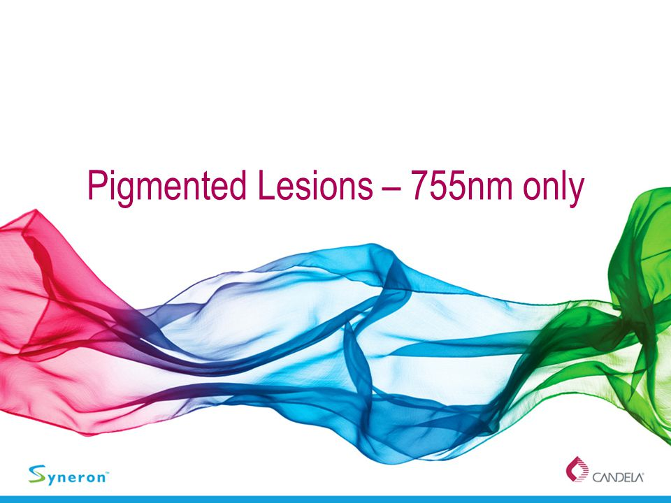 Pigmented Lesions – 755nm only