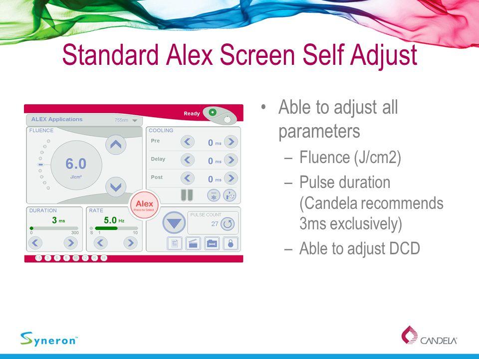 Standard Alex Screen Self Adjust