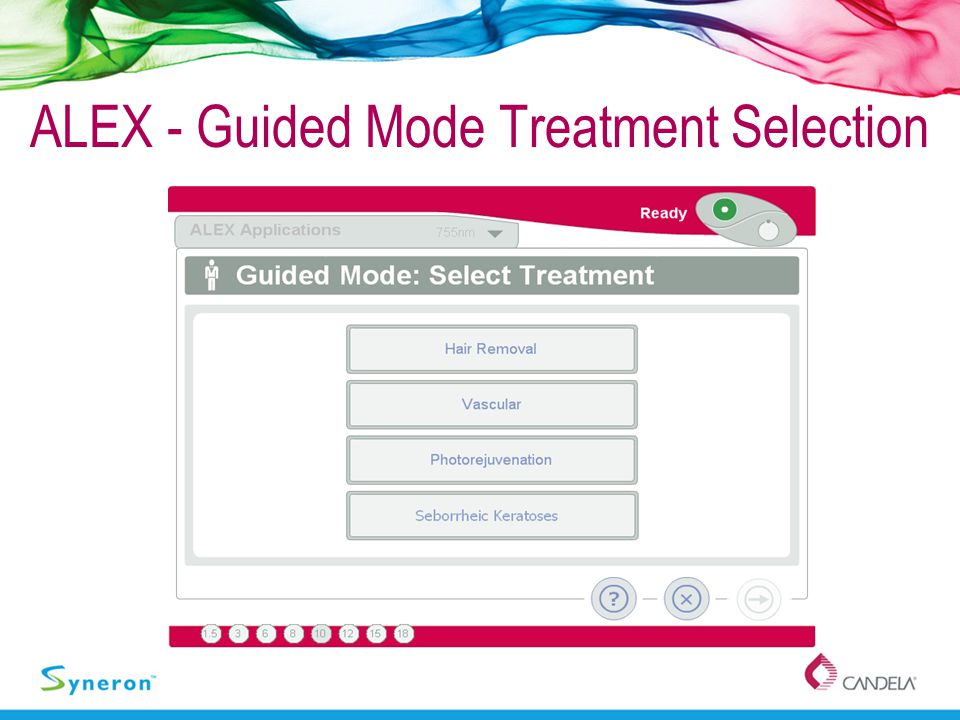ALEX - Guided Mode Treatment Selection