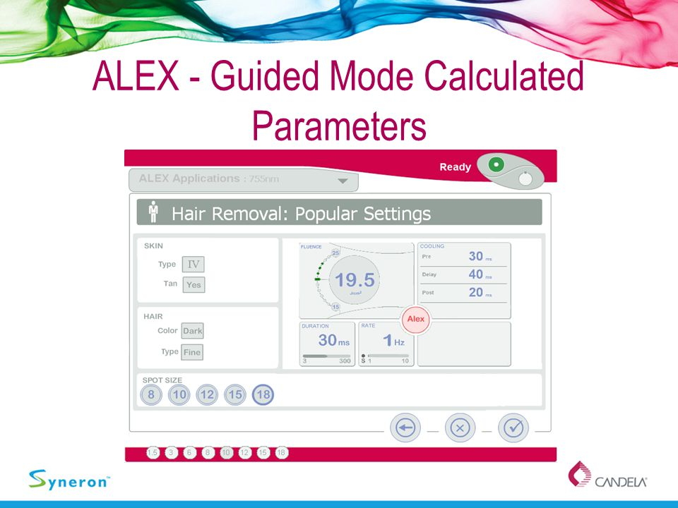 ALEX - Guided Mode Calculated Parameters