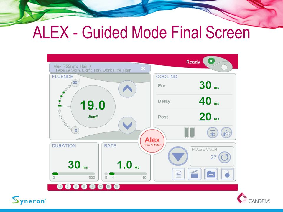ALEX - Guided Mode Final Screen