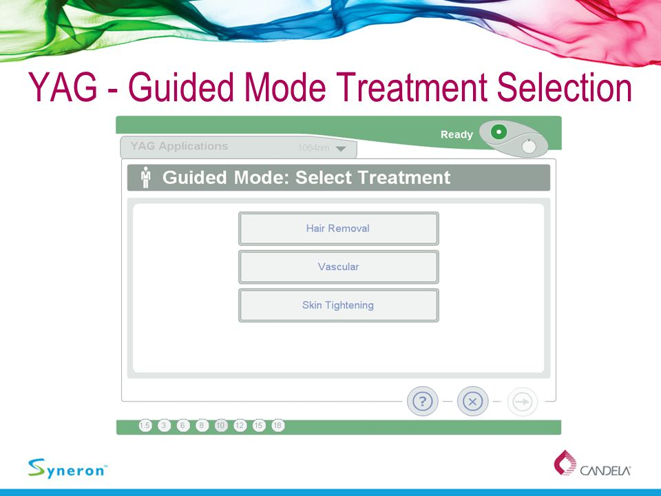 YAG - Guided Mode Treatment Selection