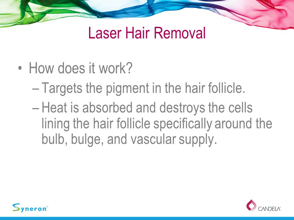 Laser Hair Removal How does it work
