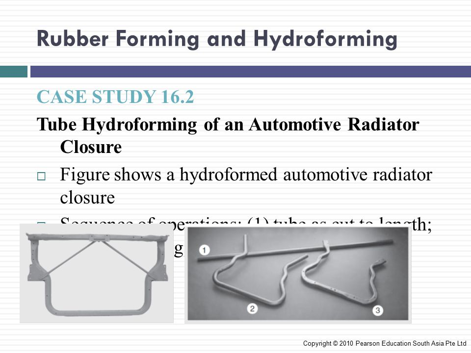 Rubber Forming and Hydroforming