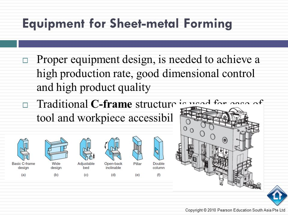 Equipment for Sheet-metal Forming