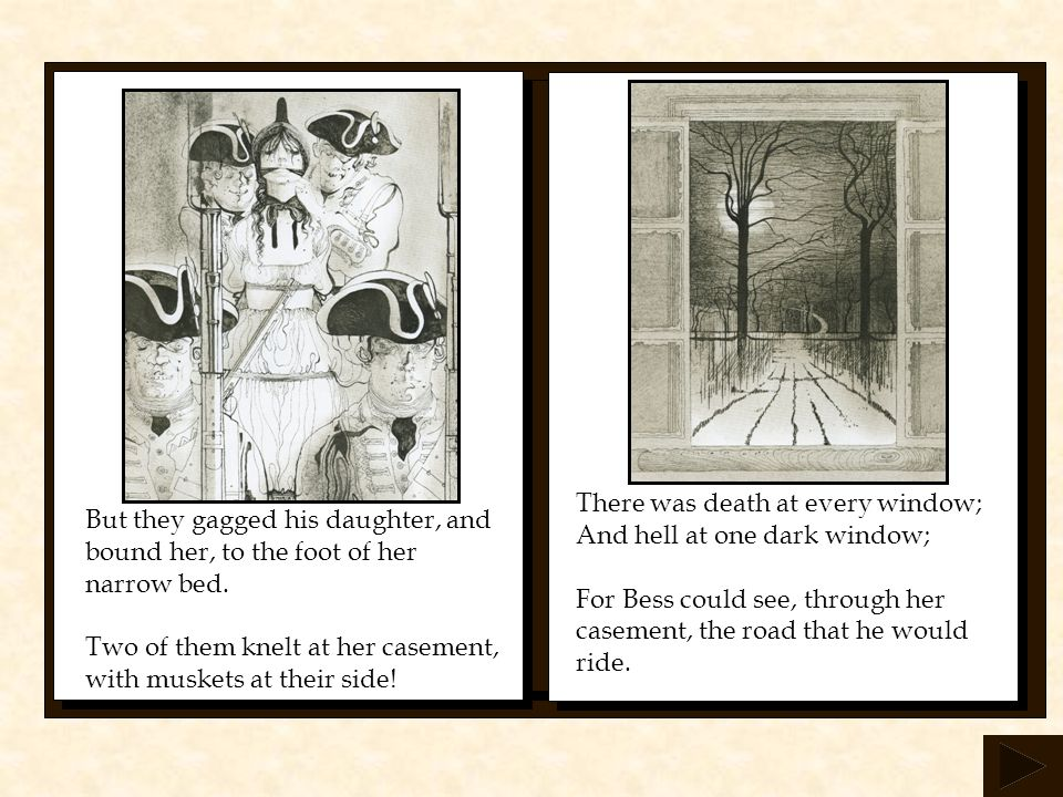 There was death at every window;