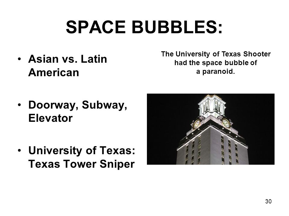 The University of Texas Shooter