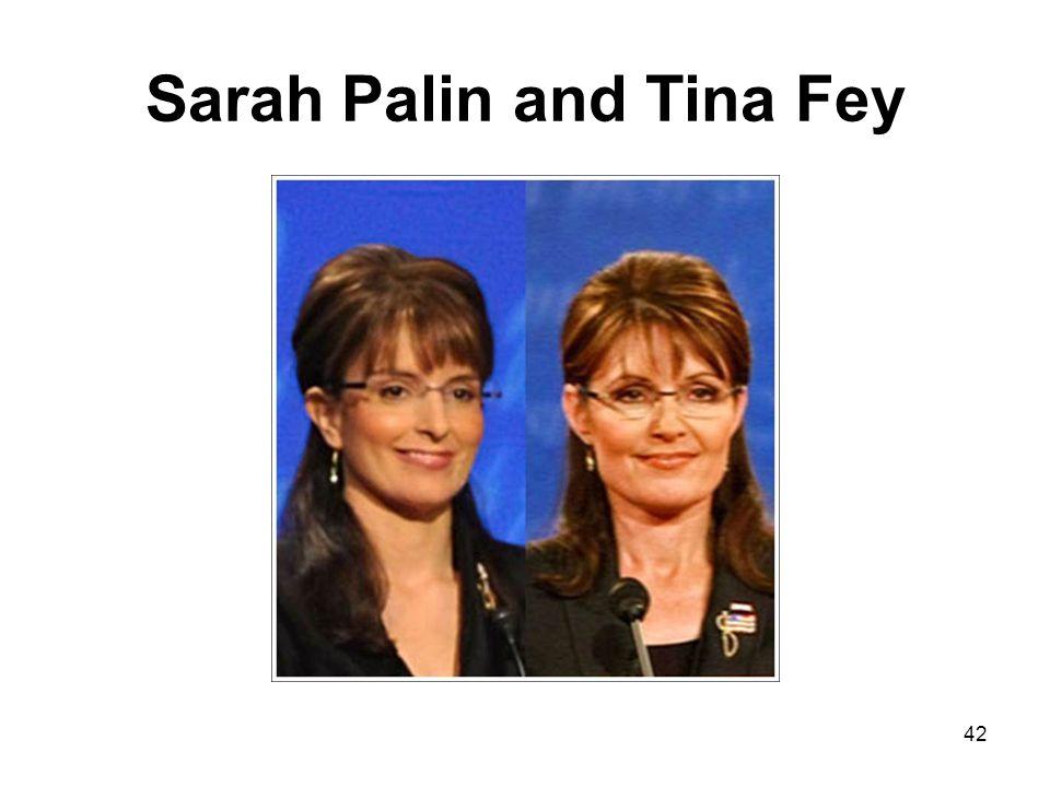 Sarah Palin and Tina Fey