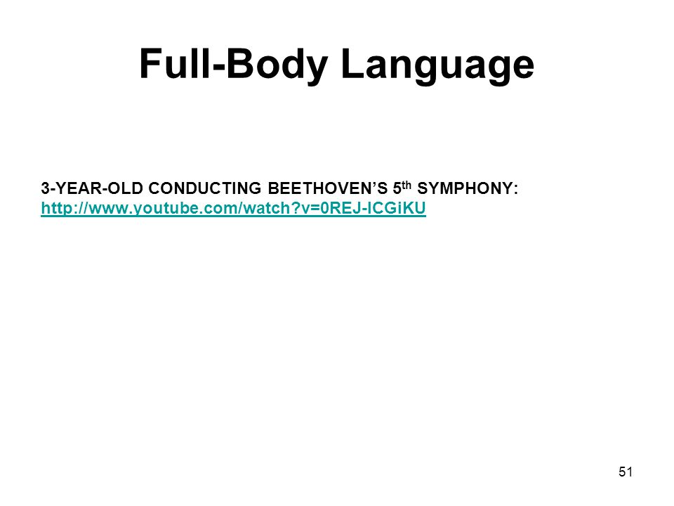 Full-Body Language 3-YEAR-OLD CONDUCTING BEETHOVEN'S 5th SYMPHONY: