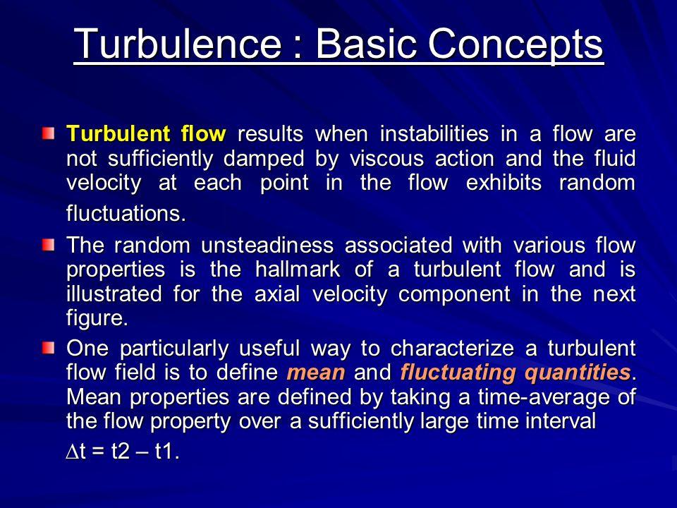 Turbulence : Basic Concepts