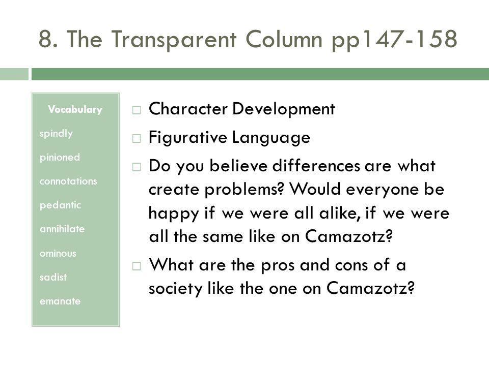 8. The Transparent Column pp147-158