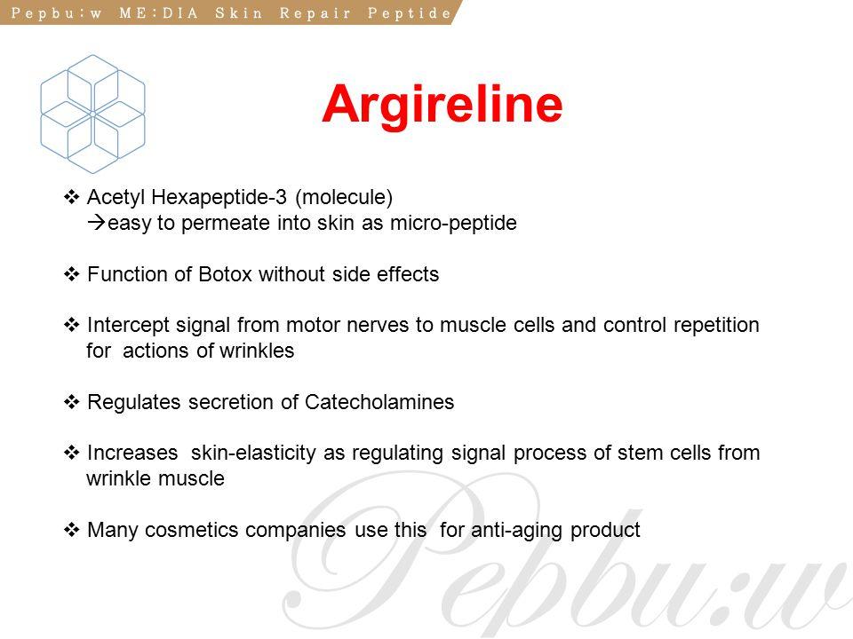 Argireline Acetyl Hexapeptide-3 (molecule)
