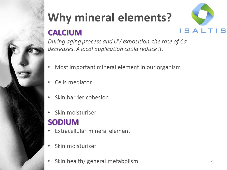 Why mineral elements CALCIUM SODIUM