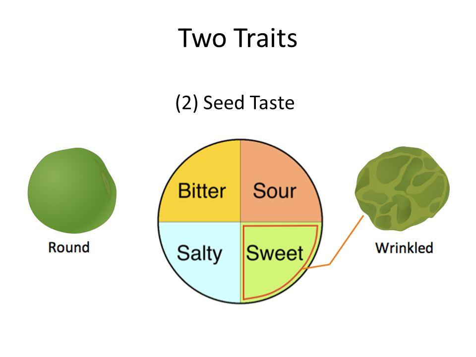 Two Traits (2) Seed Taste