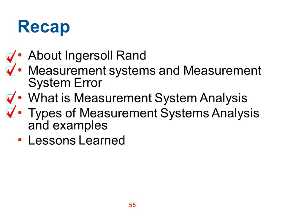 Recap About Ingersoll Rand