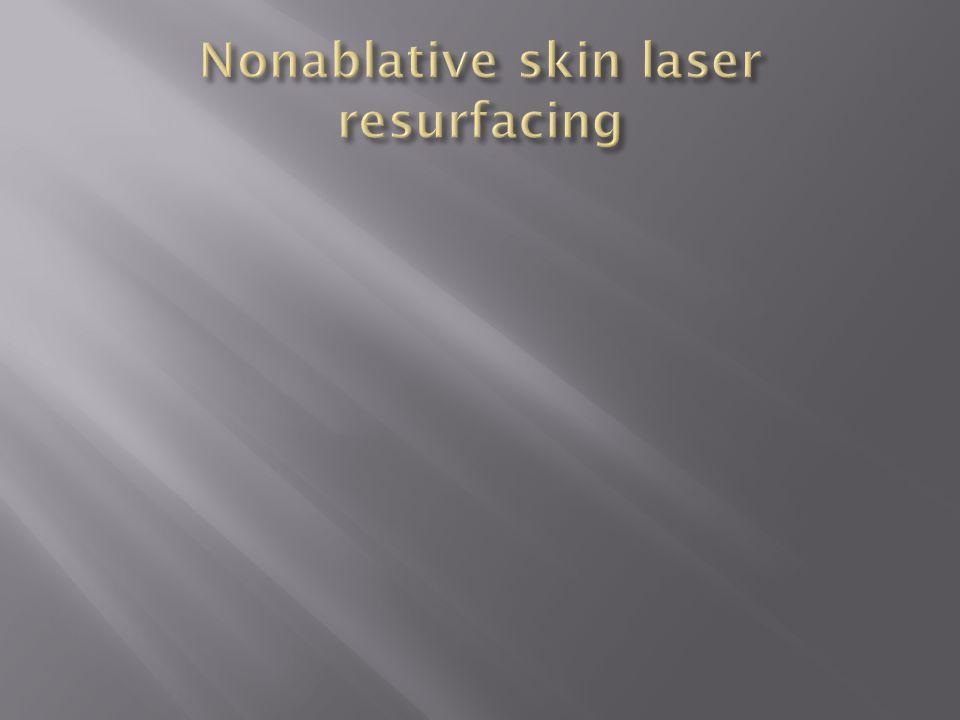 Nonablative skin laser resurfacing