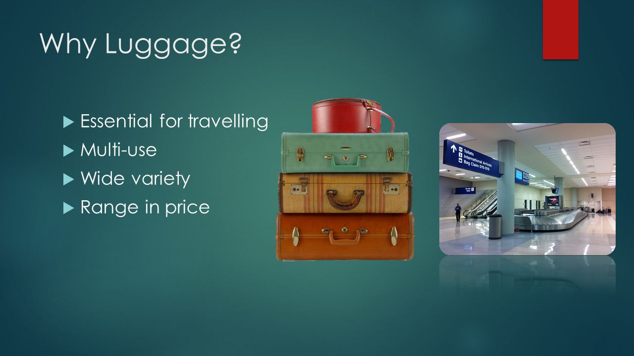 Why Luggage Essential for travelling Multi-use Wide variety