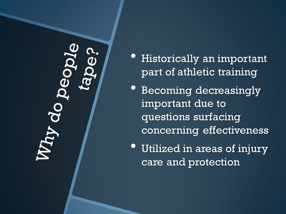 Historically an important part of athletic training