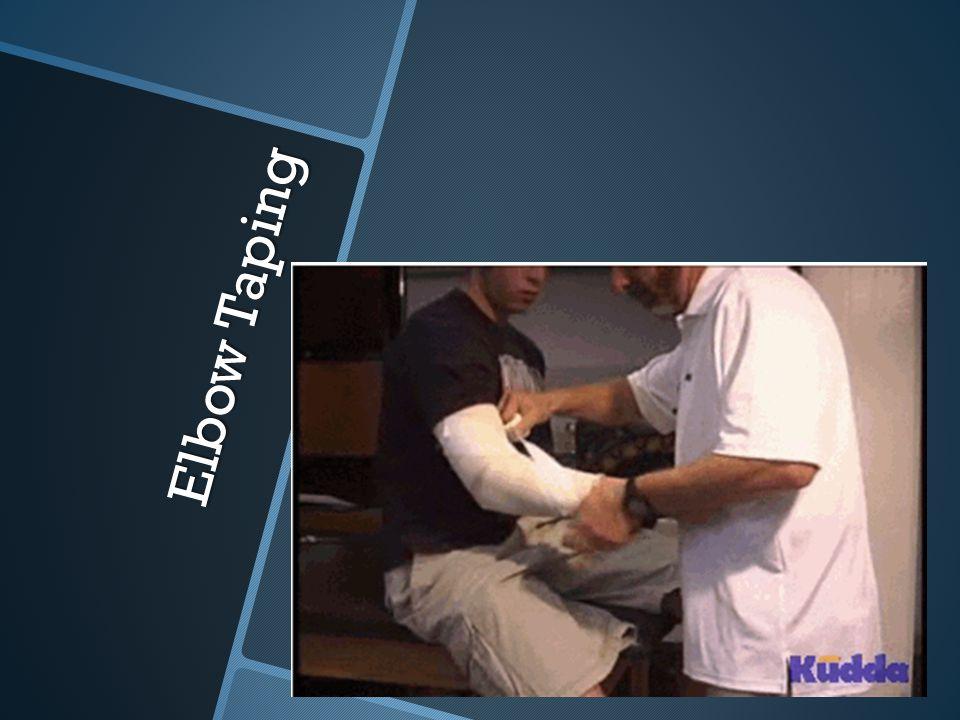 Elbow Taping