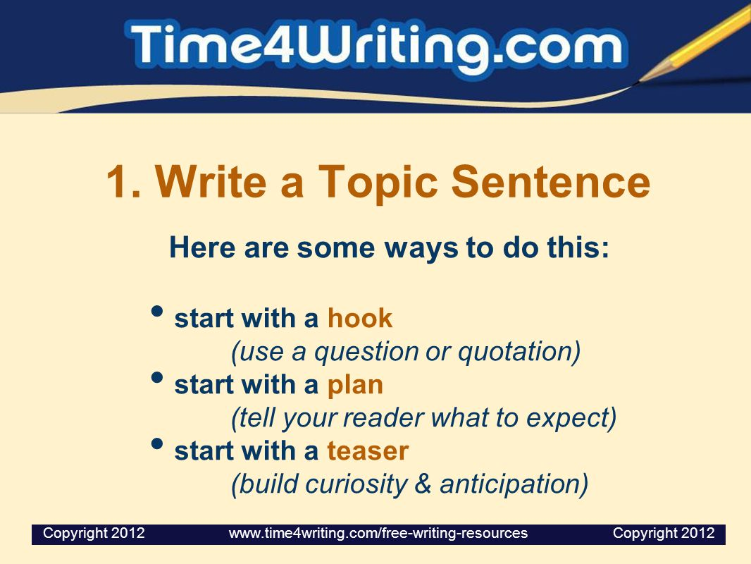 what are three ways to begin an essay Many tests will require you to write a timed essay  1:15 1 make sure that you  3:19 2 quickly outline 5:19 3 write your 6:22 4  distracted, i ended up  missing the right intersection and having to drive far out of our way then, as i.