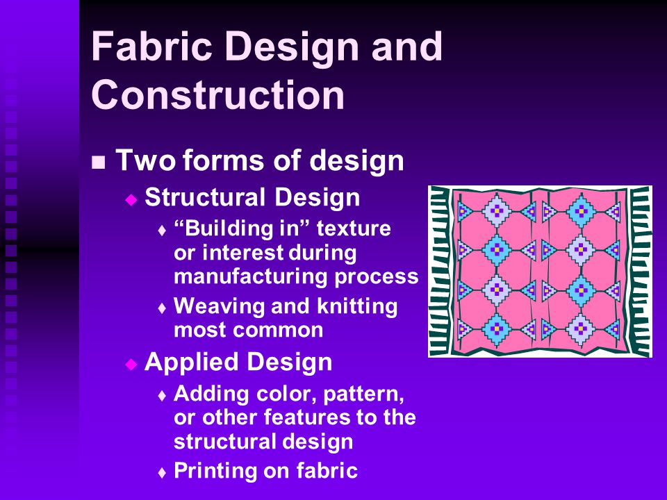 Fabric Design and Construction