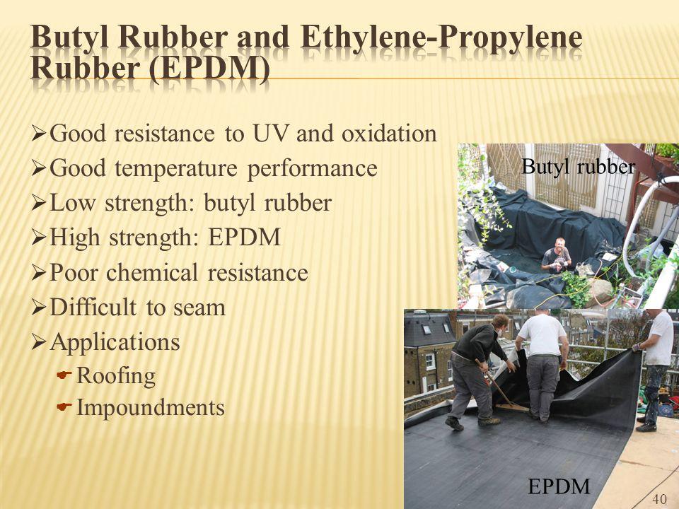 Butyl Rubber and Ethylene-Propylene Rubber (EPDM)