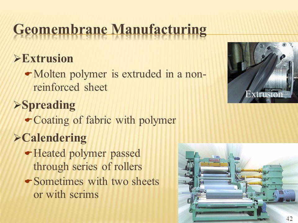 Geomembrane Manufacturing