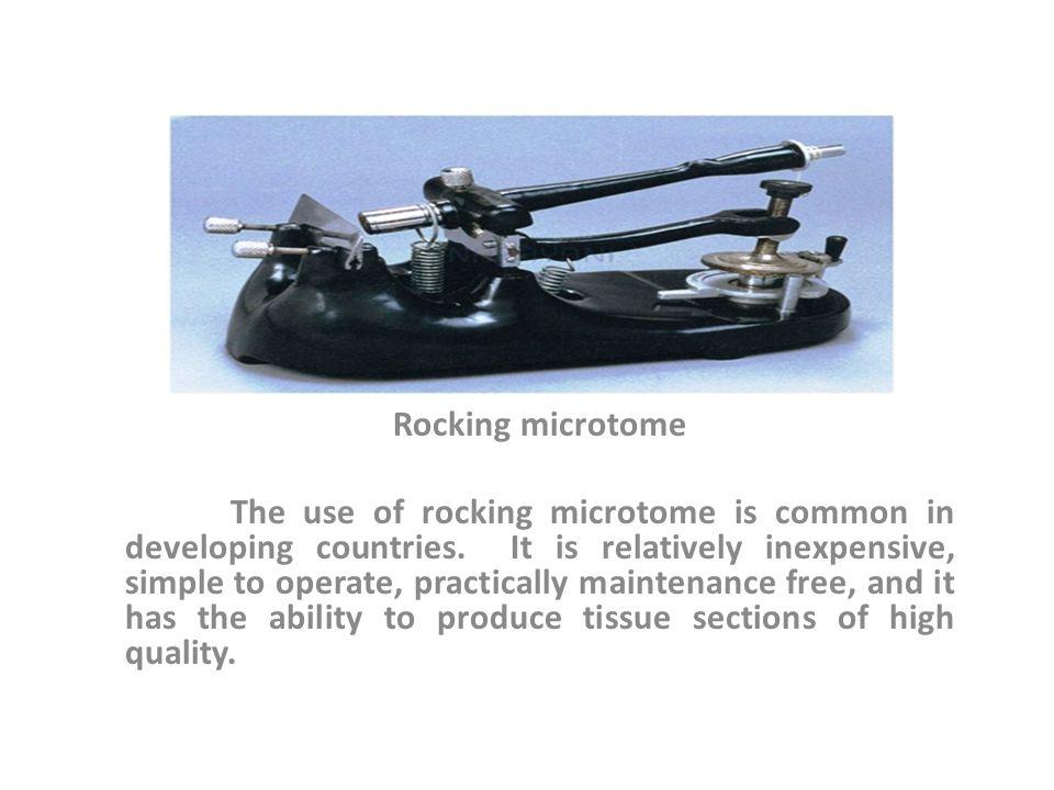 Rocking microtome