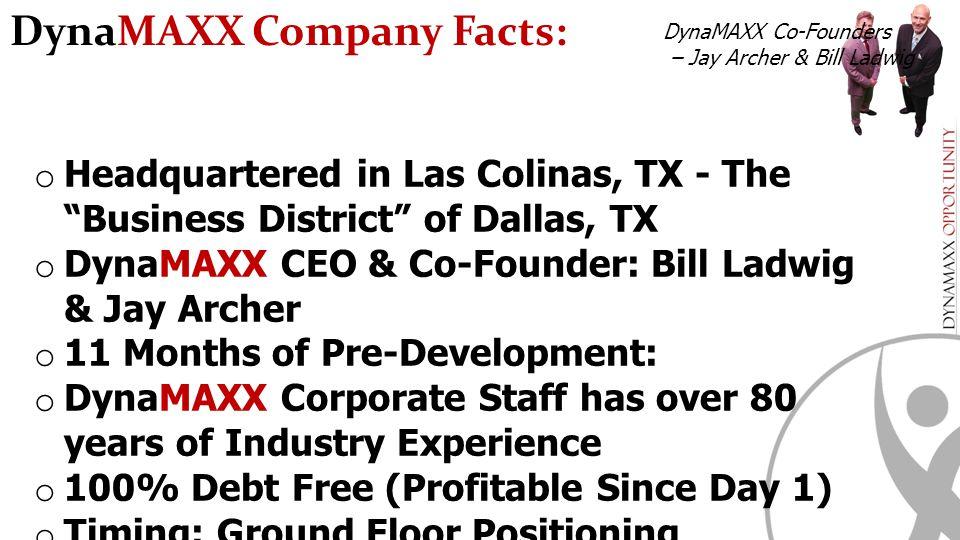 DynaMAXX Company Facts: