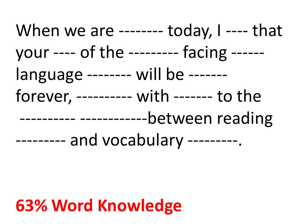 When we are -------- today, I ---- that your ---- of the --------- facing ------language -------- will be ------- forever, ---------- with ------- to the