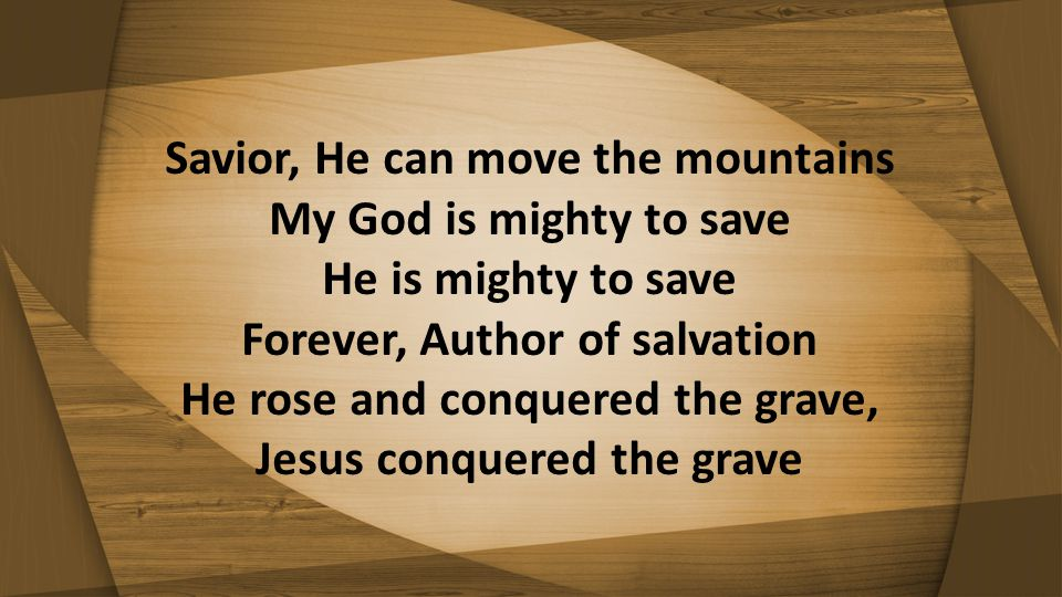 He rose and conquered the grave, Jesus conquered the grave