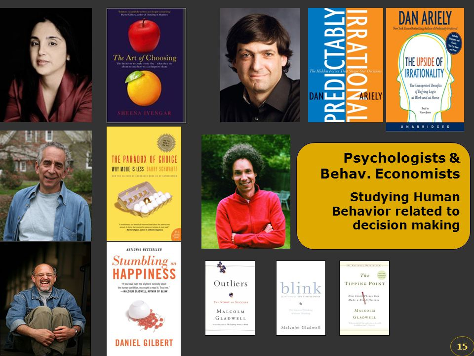Psychologists & Behav. Economists