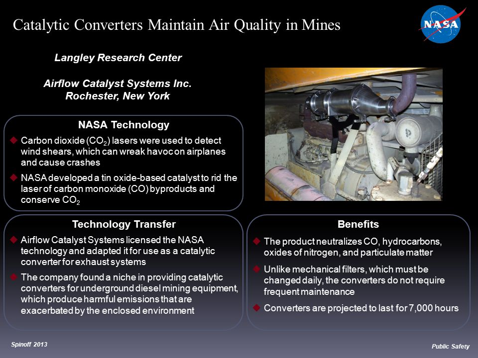 Langley Research Center Airflow Catalyst Systems Inc.