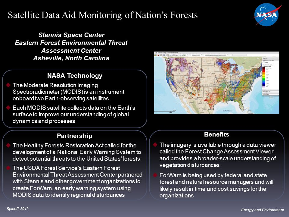 Satellite Data Aid Monitoring of Nation's Forests