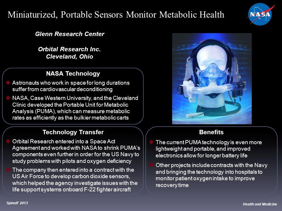 Miniaturized, Portable Sensors Monitor Metabolic Health