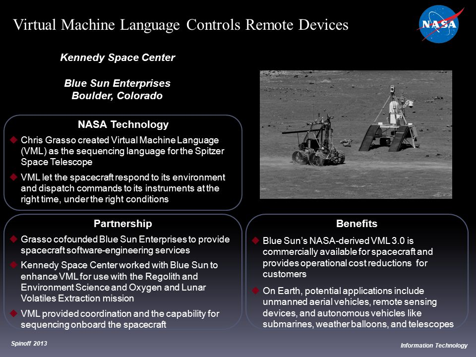 Virtual Machine Language Controls Remote Devices