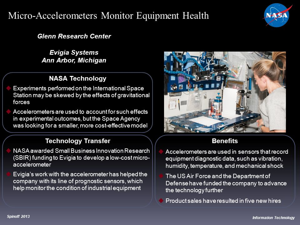 Micro-Accelerometers Monitor Equipment Health