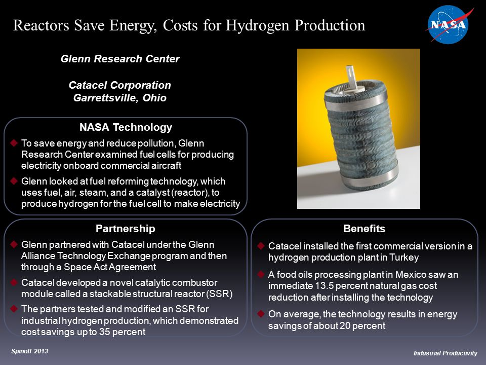 Reactors Save Energy, Costs for Hydrogen Production