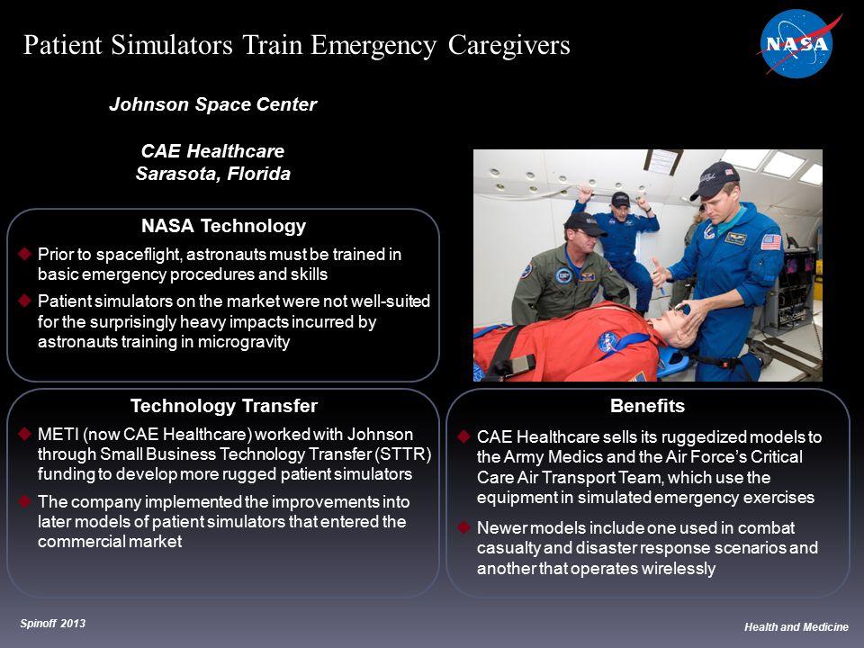Patient Simulators Train Emergency Caregivers