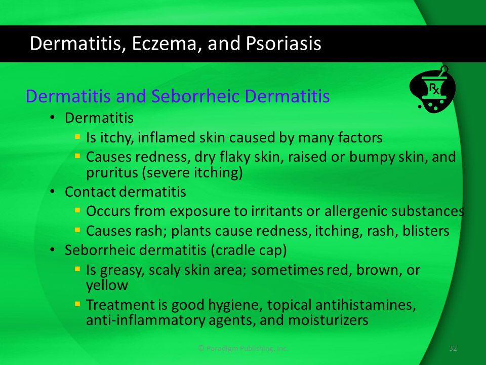 Dermatitis, Eczema, and Psoriasis