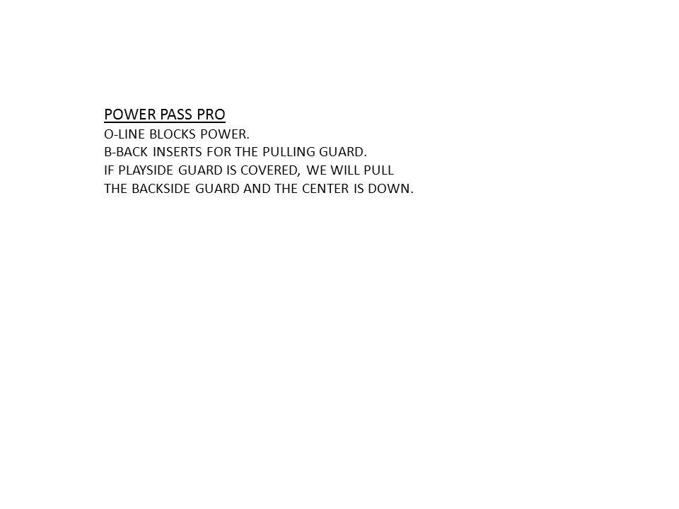 POWER PASS PRO O-LINE BLOCKS POWER.