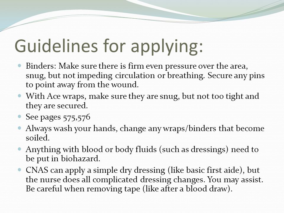 Guidelines for applying: