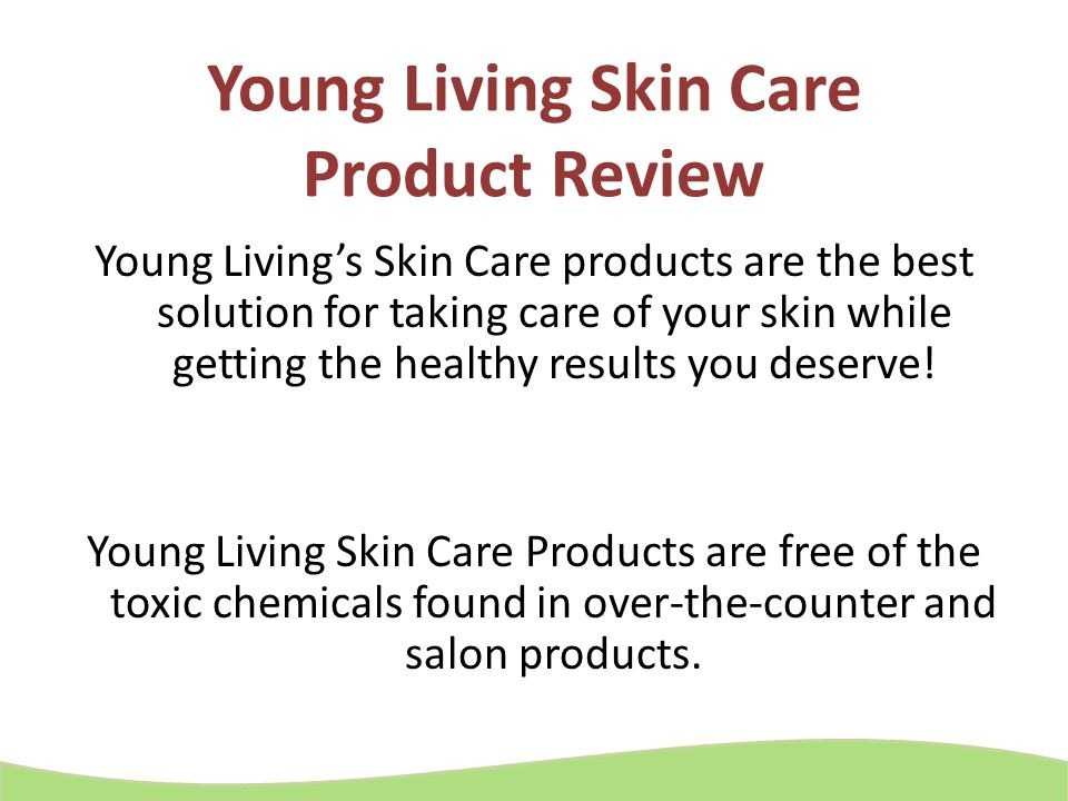 Young Living Skin Care Product Review